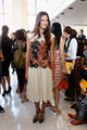 Tory Burch - Front Row - Spring 2013 Mercedes-Benz Fashion Week - odette-yustman photo