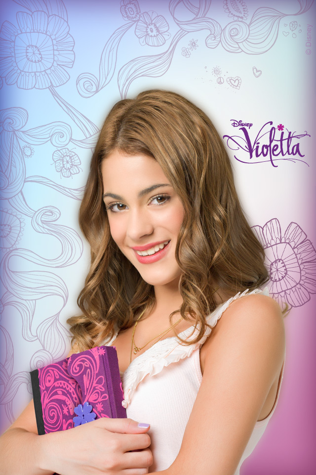 Violetta Violetta iPod Wallpaper
