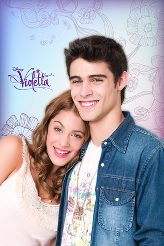 Violetta & Tomás iPod Wallpaper