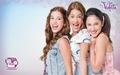 Violetta, Fran & Cami वॉलपेपर