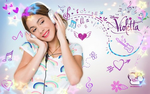 Violetta wallpaper probably with a portrait entitled Violetta