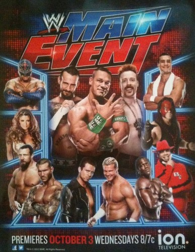 WWE wolpeyper containing anime called WWE Main Event