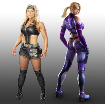 beth phoenix wallpaper containing tights and a leotard titled WWE Tekken Fantasy Pairings: Beth Phoenix