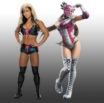 WWE Tekken Fantasy Pairings: Kaitlyn