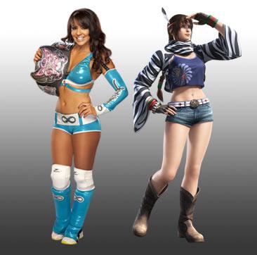 WWE Tekken Fantasy Pairings: Layla