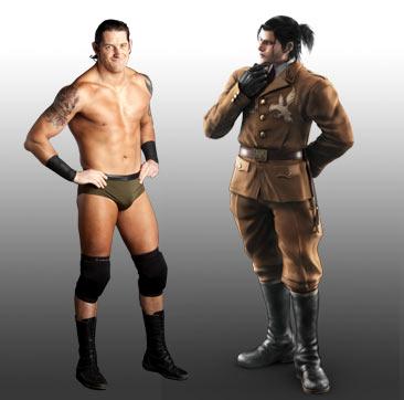 WWE Tekken Fantasy Pairings