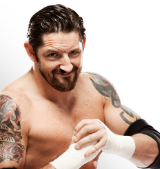 Wade Barrett wallpaper probably with skin and a portrait called WWE.com Bio pic