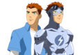 Wally West/ Kid Flash (Polar Stealth) - young-justice fan art