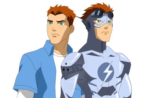 Young Justice wallpaper entitled Wally West/ Kid Flash (Polar Stealth)