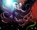 Walt Disney Fan Art -  Ursula, Flotsam & Jetsam - walt-disney-characters fan art