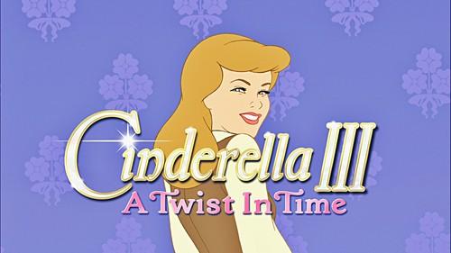 Walt Disney Screencaps - Sinderella III: A Twist in Time pamagat Card