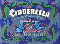 Walt Disney Screencaps - Cinderella Title Card