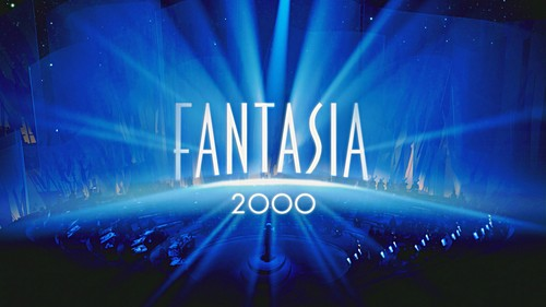 Walt Disney Screencaps - Fantasia 2000 Title Card