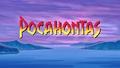 Walt Disney Screencaps - Pocahontas Title Card