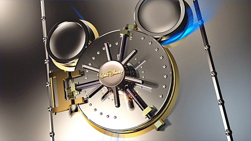 Walt 디즈니 Screencaps - The 디즈니 둥근 천장, 금고