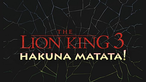 Walt Disney Screencaps - The Lion King 1½ titre Card