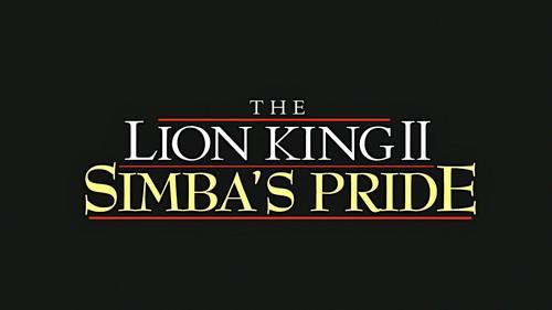Walt ディズニー Screencaps - The Lion King II: Simba's Pride タイトル Card