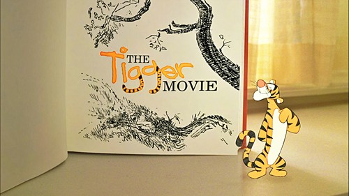 Walt ডিজনি Screencaps - The Tigger Movie শিরোনাম Card