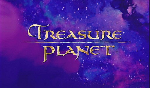 Walt Disney Screencaps - Treasure Planet Title Card