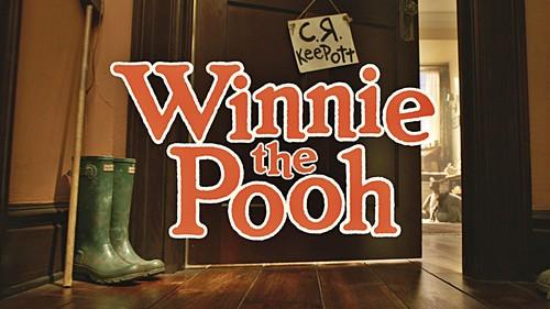Walt 디즈니 Screencaps - Winnie the Pooh 제목 Card