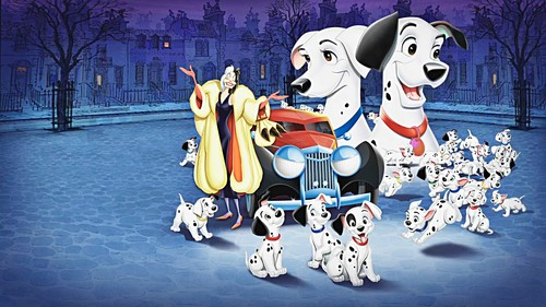 Walt Disney karatasi za kupamba ukuta - One Hundred and One Dalmatians