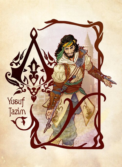 Yusuf Tazim The Assassin S Fan Art 32179718 Fanpop