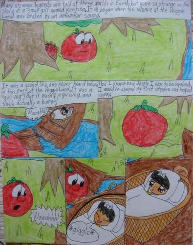 a veggie book comic 1