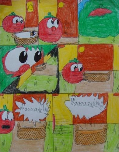 a veggie book comic 3