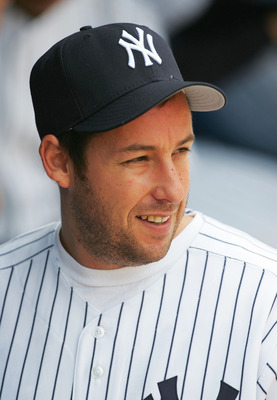 Adam Sandler پیپر وال containing a ballplayer, an umpire, and a first baseman titled adam sandler