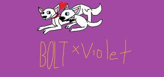 bolt x violet