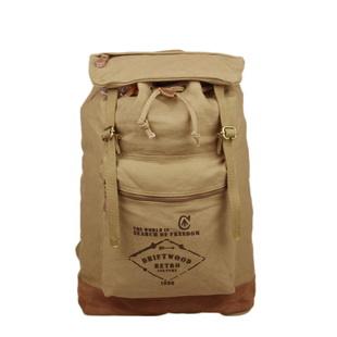 canvas barrel rucksack backpack for mens
