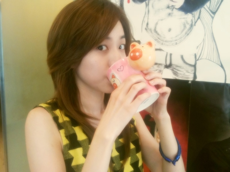 dara 2ne1 drink for skin