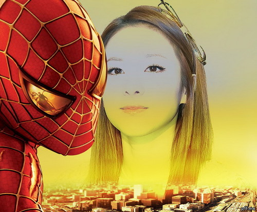 dara 2NE1 spiderman