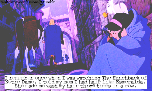 The Hunchback of Notre Dame wallpaper containing anime entitled disney confessions