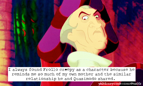 The Hunchback of Notre Dame wallpaper entitled disney confessions