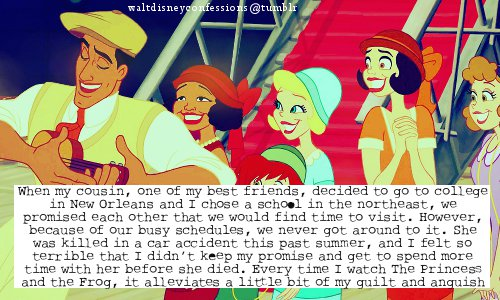 The Princess and the Frog wallpaper with anime entitled disney confessions