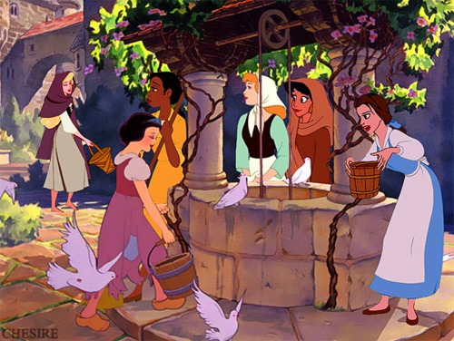 ディズニー princesses peasant dress