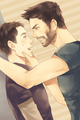 fanart - derek-and-stiles fan art