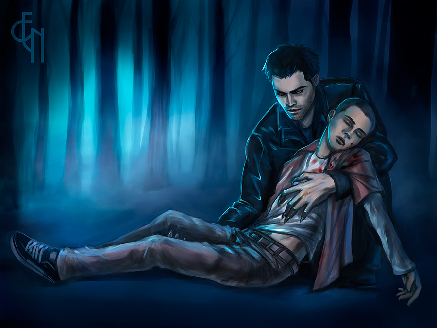 Teen Wolf Stiles And Derek Fanart