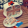 favourite cake - great-britain photo