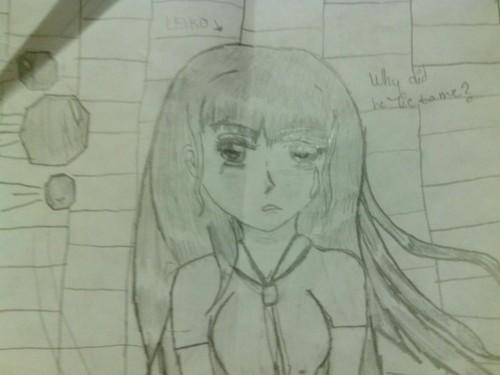 hand-drawn ऐनीमे pics