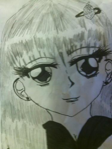 hand-drawn Anime pics