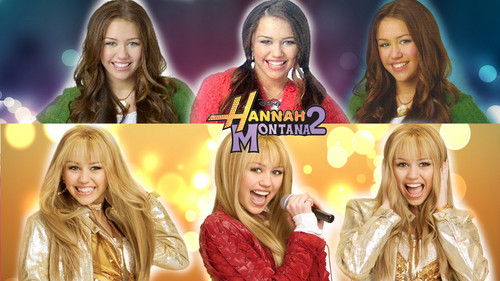 Hannah Montana wallpaper with a portrait titled hm2