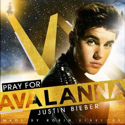 justin bieber,Pray for avalanna, 2012
