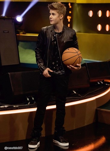 justin bieber, the Jonathan Ross Show, 2012