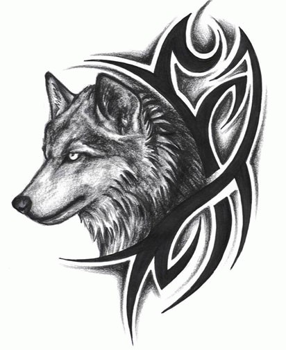 Alpha and Omega imej katealphwolfs tattoo kertas dinding and ...