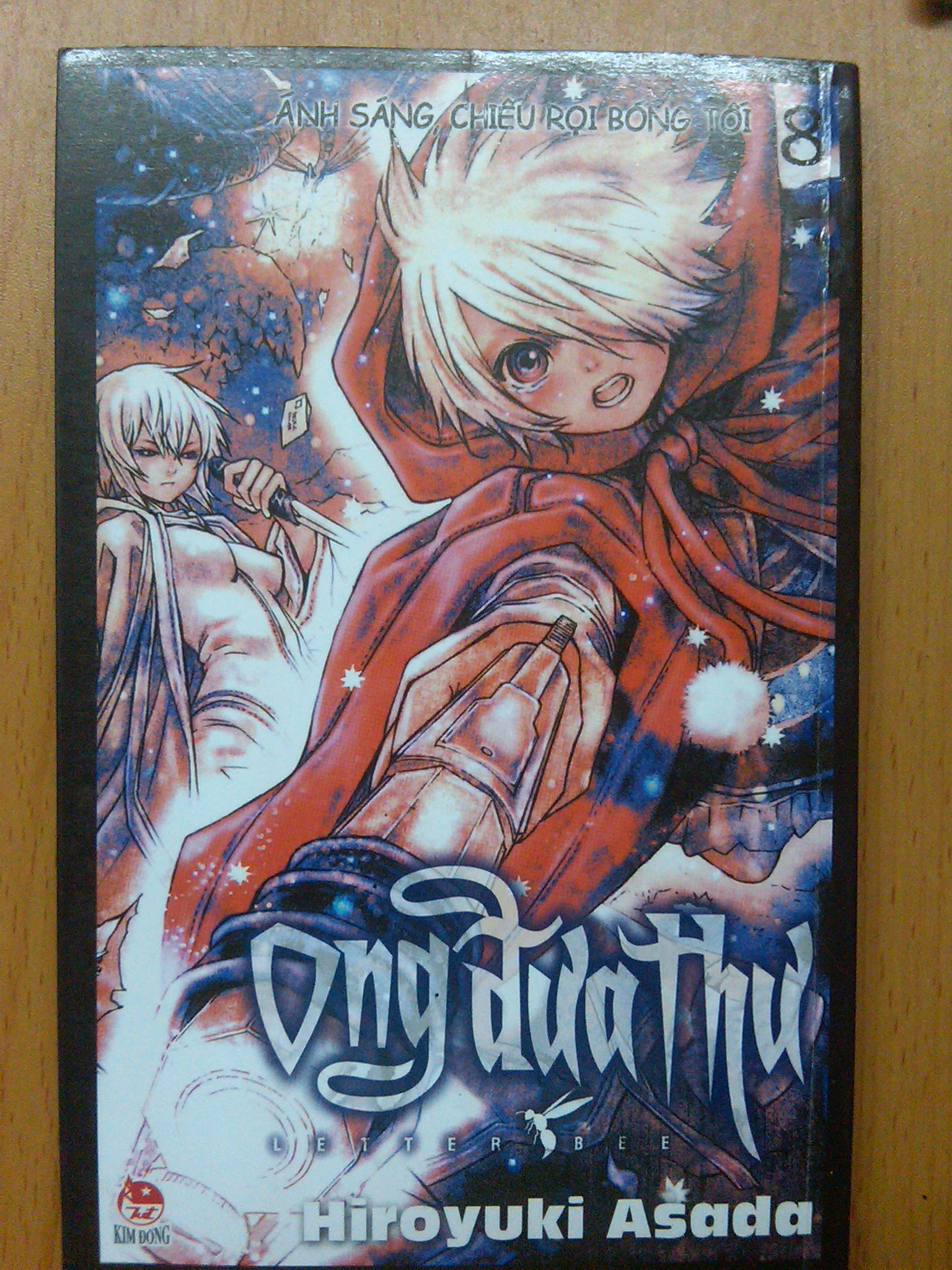 my Tegami Bachi's manga collection!!! ^^