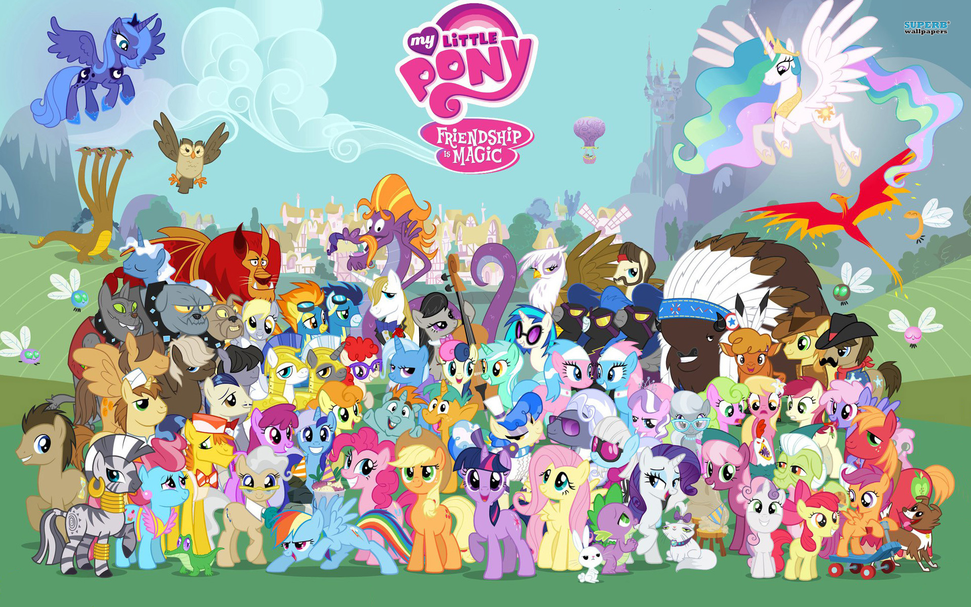 my little pony friends...