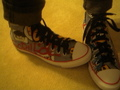 my new shoes! :) - gorillaz photo