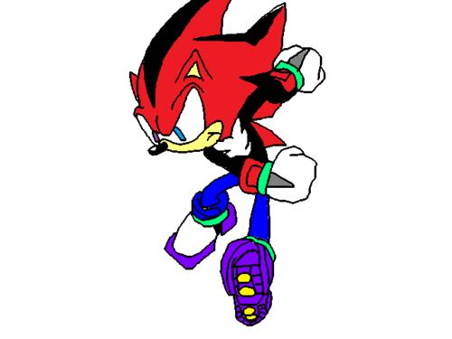nero the hedgehog drawing